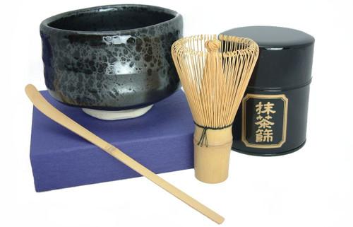 Matcha Essentials - Matcha Whisk, Scoop, Strainer Tin, and Bowl   Dominion Tea