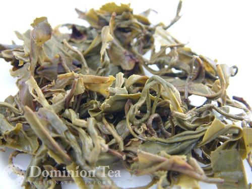 Monkey Temple Green Tea Infused Leaf   Dominion Tea