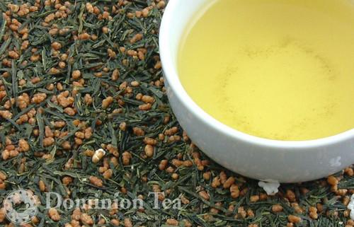 Genmaicha Organic - Loose Leaf and Liquor | Dominion Tea