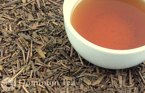 Loose Leaf Hojicha Tea Organic and Liquor | Dominion Tea