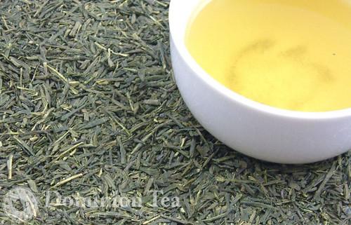 Organic Sencha Loose Leaf Green Tea and Liquor   Dominion Tea