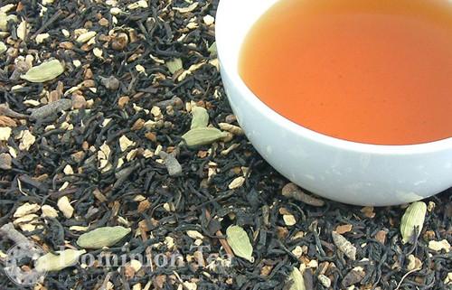 Chocolate Chai Loose Leaf and Liquor | Dominion Tea