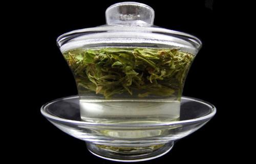 Clear Glass Chinese Gaiwan