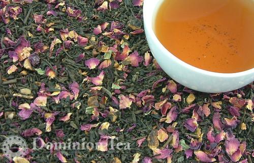 Loose Leaf Apple Blossom Tea & Infused Liquor