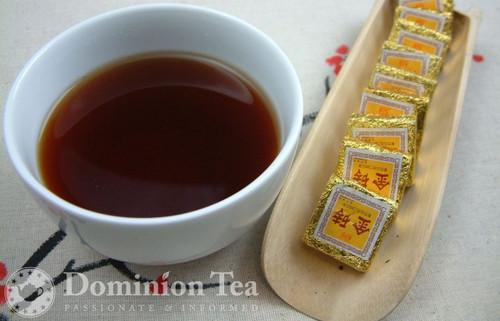 Golden Fortune Puerh Bricks - Infused Liquor & Puerh Bricks