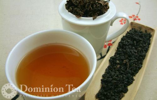 Taiwan GABA Oolong - Loose Leaf and Liquor