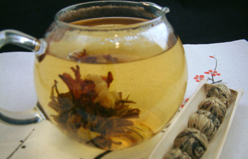Lucky Flowering Tea