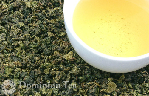 Loose Leaf Milk Oolong tea and liquour