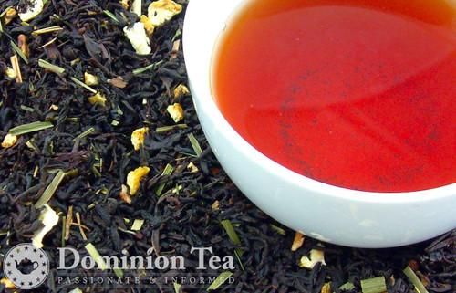 Petite Grey Loose Leaf Tea and Infused Liquor