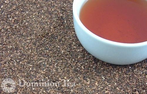 Honeybush Tisane Dry Leaf and Liquor