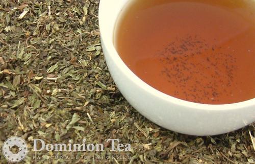 Martha's Mint tea and liquor.