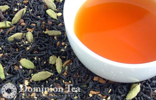 Maple Chai Dry Leaf and Liquor