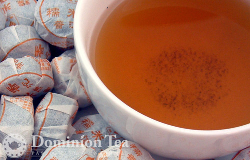 Sheng Sticky Rice Puerh - Tuo Cha and Infused Liquor