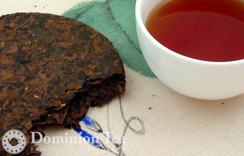 Gaba Oolong Tea Cake and Infusion