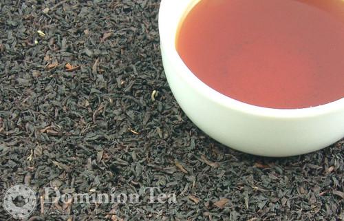 Earl Grey Tea Dry Leaf and Liquor