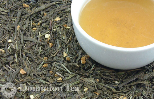 Chinese Blueberry Tea Dry Leaf and Liquor