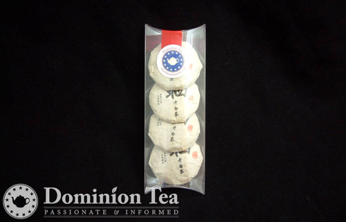 Gift of Box of 4 White Tea Buttons