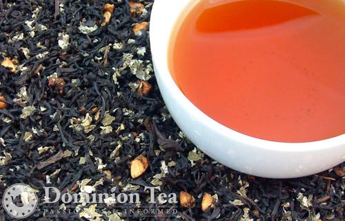 Apple Pie Tea Loose Leaf and Infused Liquor