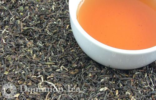 2nd Flush Darjeeling Tea, Makaibari Estate Dry Leaf and Liquor