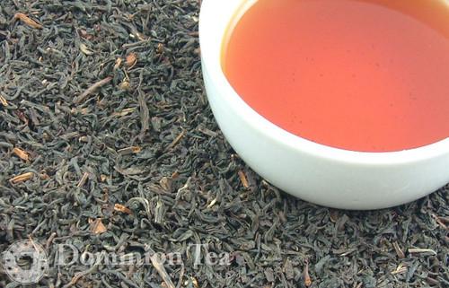 Irish Breakfast Tea Dry Leaf and Liquor