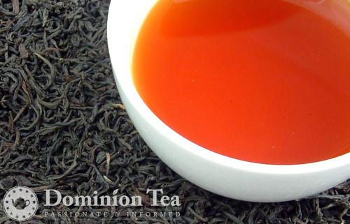 Classic Assam Tea Dry Leaf and Liquor