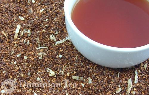 Chocolate Rum Balls Tisane Dry Leaf and Liquor
