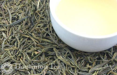 Huang Shan Mao Feng Dry Leaf and Liquor