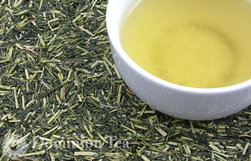 Kukicha Twig Tea Loose Leaf and Liquor