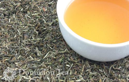 2014 First Flush Darjeeling, Singell Estate - Dry Leaf and Liquor   Dominion Tea