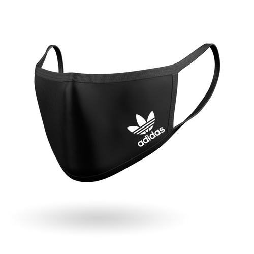 Adidas Logo - 2 Face Mask