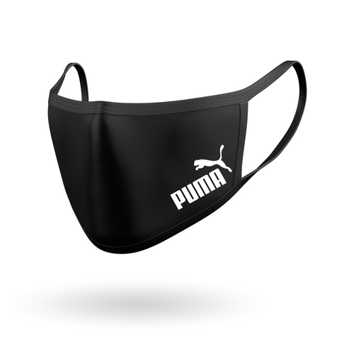 Puma Inspired Logo Face Mask