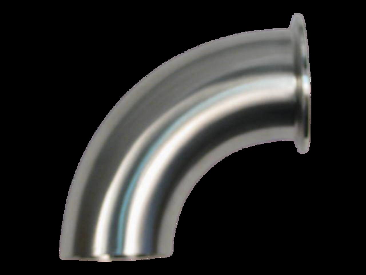 Westco Sanitary 90 Degree TriClamp & Weld Elbow