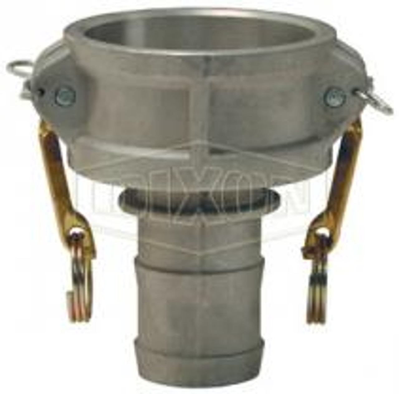 """A 2"""" female coupler-hose skank Cam Lock manufactured using stainless steel."""