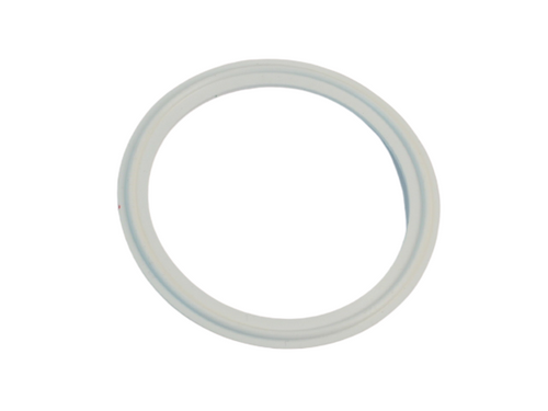 Westco Sanitary Tri Clamp Gasket Silicone #40MP-XWXXX White