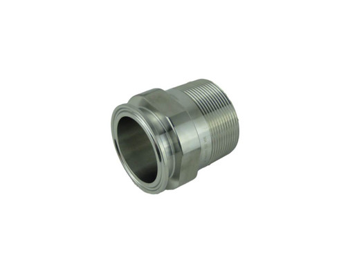 Sanitary - Threaded Male Clamp Adapters