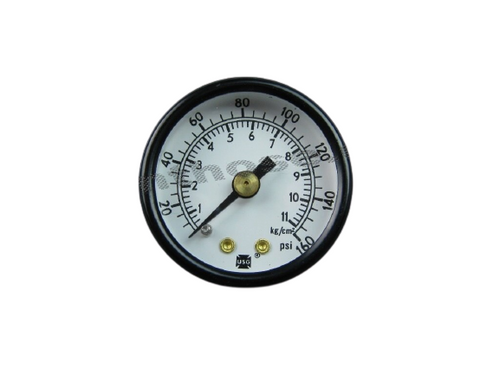 "Air Pressure Gauge 0-160PSI 1/8""NPT #28-706"