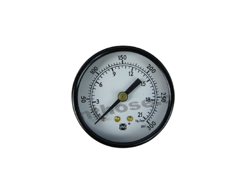 "Air Pressure Gauge 0-300PSI 1/4"" NPT #28-704"