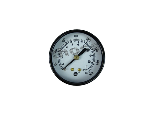 "Air Pressure Gauge 0-160PSI 1/4"" NPT #28-705"