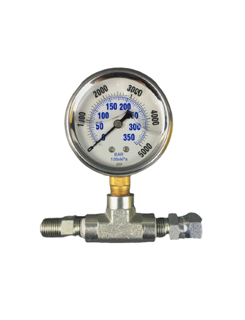 Right Side Swivel Pressure Gauge Assembly for Airless Sprayers Same as Titan 730-397 / 0508239