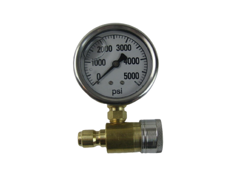 Pressure Washer Gauge Assembly 5000PSI 3/8""