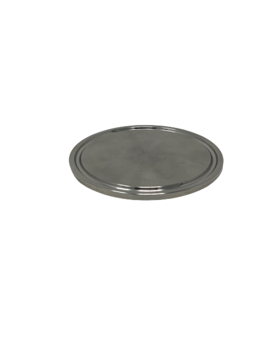 Westco Sanitary Solid End Cap for Tri Clamp Fittings