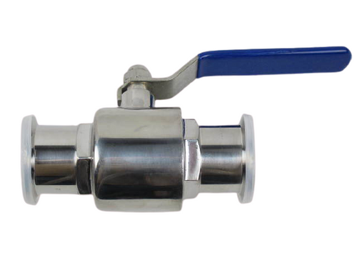 "Westco 1 1/2"" Sanitary Ball Valve With Clamp Ends SA150VABA"