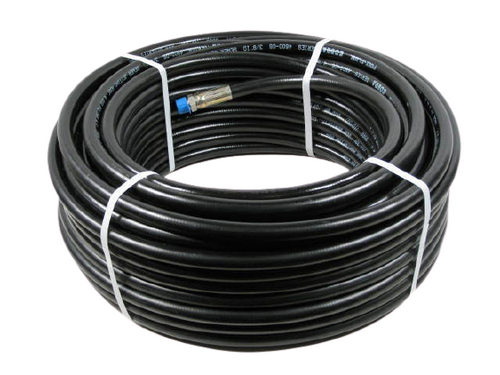 "Sewer Jetter Cleaning Hose, 1/4"" X 75', USA Cobra Made"