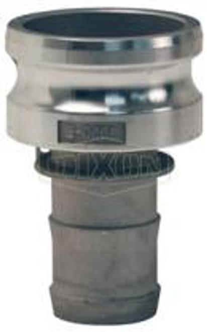 """A 4"""" male adapter-hose skank Cam Lock manufactured using aluminum."""