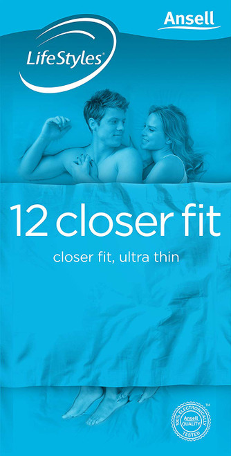 Ansell Closer Pack of 12 Condoms