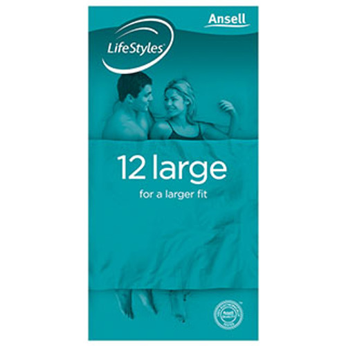 Ansell Large Pack of 12 Condoms