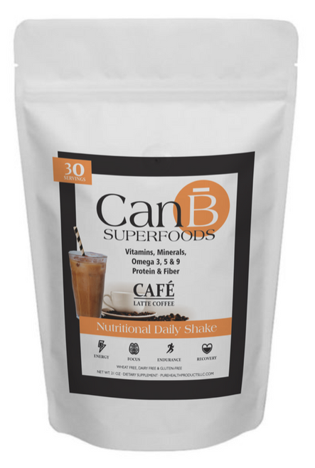 1 BAG - Coffee Mocha - CANB SUPERFOODS - 30 SCOOPS -1 Month Supply