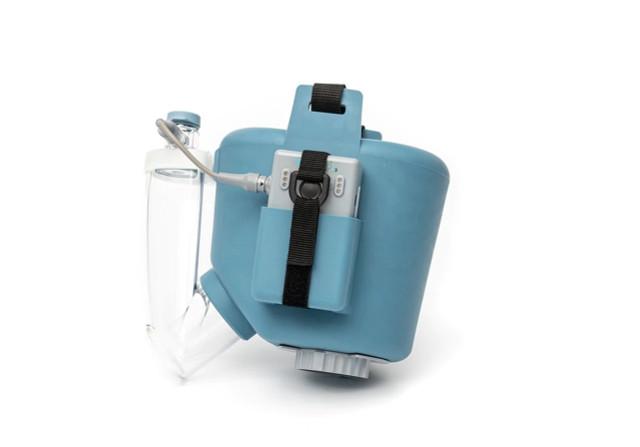 Flexineb E3 Portable Equine Nebulizer Complete System - FOAL - BLUE