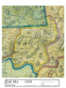 Set of 29 same size Historical Maps - Gill MA Old Map