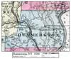 Set of 17 same size Historical Maps - Dummerston VT Old Map